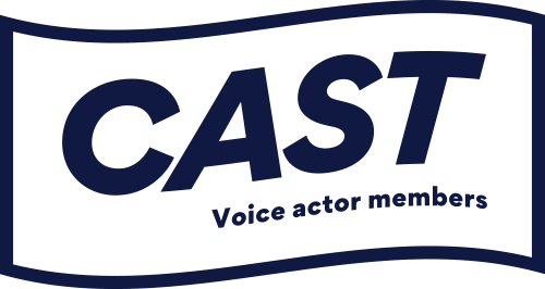 CAST Voice actor members